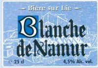 Blanche de Namur Beer