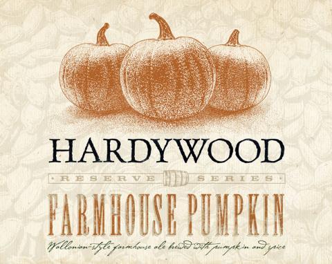 Hardywood Farmhouse Pumpkin beer Label Full Size