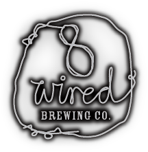 8 Wired Batch 2.18 beer Label Full Size