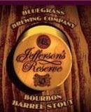 Bluegrass Jefferson's Reserve Bourbon Barrel Stout beer
