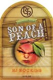 R.J. Rockers Son of a Peach Wheat beer