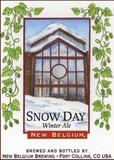New Belgium Snow Day beer