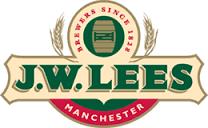 JW Lees Harvest Ale 2008 beer Label Full Size