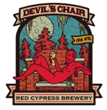 Red Cypress Devils Chair Beer