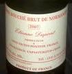 Etienne Dupont Cidre 2007 Beer