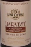 JW Lees Harvest Ale 2005 beer