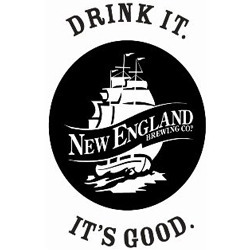 New England Galaxy Pale Ale beer Label Full Size