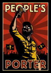 Foothills People's Porter beer Label Full Size
