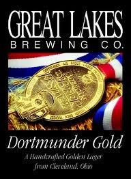 Great Lakes Dortmunder Gold beer Label Full Size