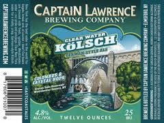 Captain Lawrence Clearwater Kolsch beer Label Full Size