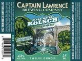 Captain Lawrence Clearwater Kolsch Beer