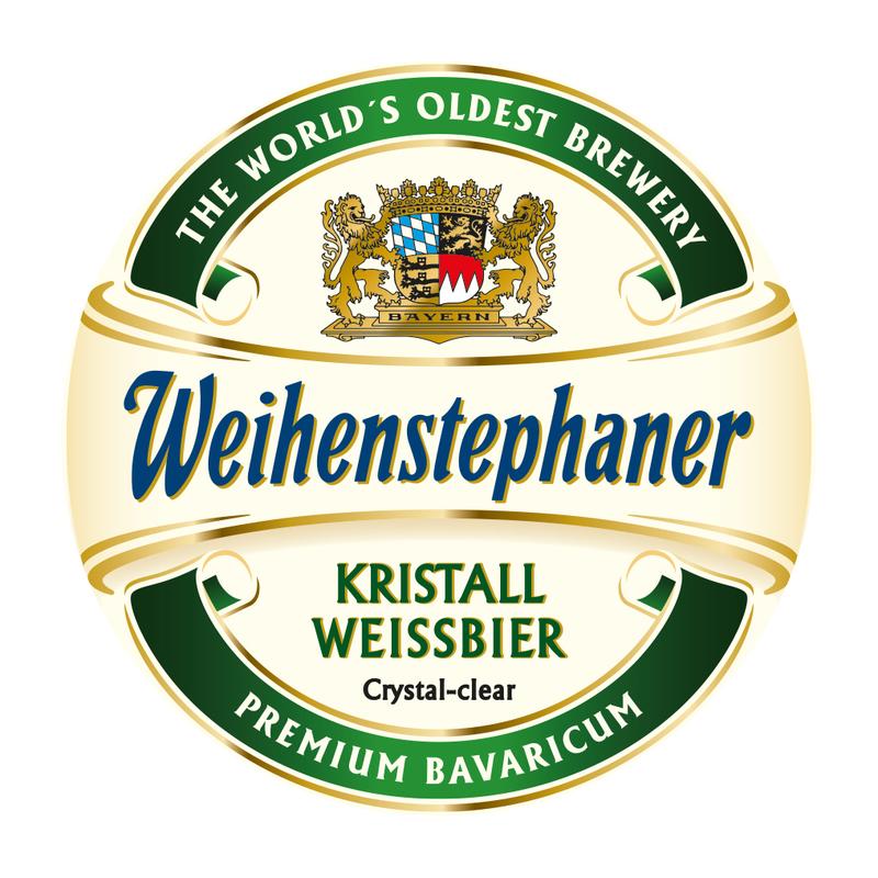 Weihenstephaner Kristallweissbier beer Label Full Size