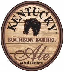 Lexington Kentucky Bourbon Barrel Ale beer Label Full Size