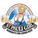 St. Pauli Girl beer Label Full Size