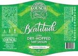Council Beatitude Citra Dry-Hopped Tart Saison Beer