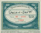 Boulevard Saison Brett Beer
