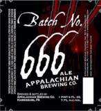 Appalachian Batch 666 beer