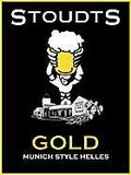 Stoudts Gold Lager beer