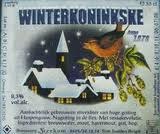 Kerkom Winterkoninkske Beer