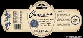 Wicked Weed Oaxacan beer Label Full Size