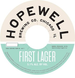 Hopewell First Lager Beer