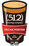 (512) Pecan Porter beer