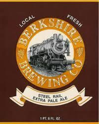 Berkshire Steel Rail Extra Pale Ale beer Label Full Size