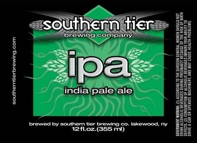 Southern Tier IPA beer Label Full Size