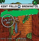 Kent Falls Lime Zest Gose beer