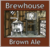 Mini real ale brewhouse brown