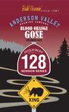 Anderson Valley 128 Blood Orange Gose beer