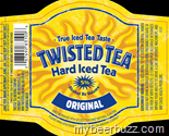 Twisted Tea Original beer Label Full Size