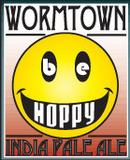 Wormtown Be Hoppy IPA beer