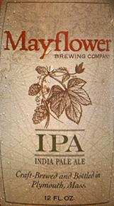 Mayflower IPA beer Label Full Size