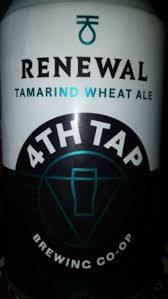 4th Tap Renewal Tamarind Wheat Ale beer Label Full Size