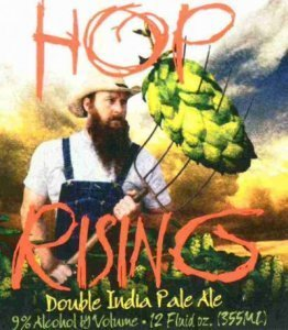 Squatters Hop Rising Double IPA beer Label Full Size