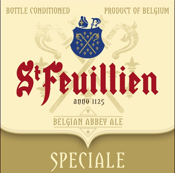 St. Feuillien Speciale beer Label Full Size