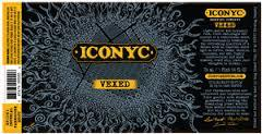 ICONYC Vexed beer Label Full Size