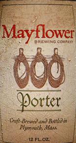 Mayflower Porter beer Label Full Size