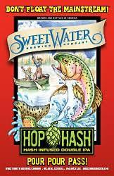 SweetWater Hash Session IPA beer Label Full Size