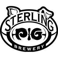 Sterling Pig Piggy Stardust beer Label Full Size