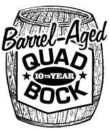 Heartland Quad Bock Barrel Aged 2010 beer Label Full Size