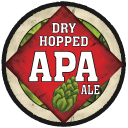 Schlafly Dry Hopped APA beer Label Full Size