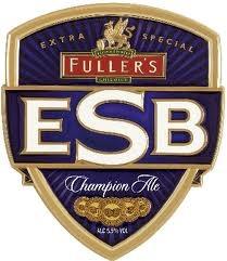 Fuller's ESB beer Label Full Size