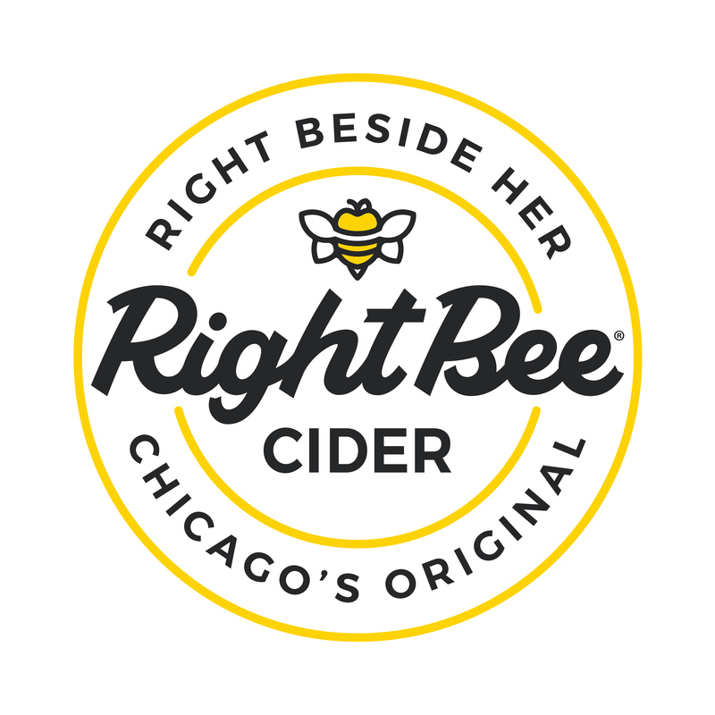 Right Bee Cider: Dry beer Label Full Size