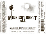 Allagash Midnight Brett 2014 Beer