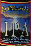 Boundary Bay IPA beer