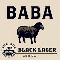 Uinta Baba Black Lager beer Label Full Size