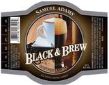 Sam Adams Black & Brew beer