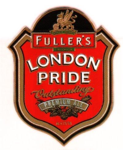 Fuller's London Pride beer Label Full Size